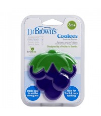 DRB TE223 : DR.BROWN\'S Soothing Teether \quot;Coolees\quot; - Grape