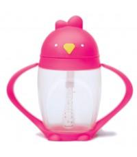 Lollaland : LLL1008* ถ้วยหัดดื่ม Lollacup Posh Pink