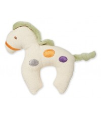 Green Point : GRP46051 ยางกัดแบบผ้า Canvas Natural Teether: Horse - Green