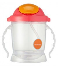 INO SIP-103:EZ Flow Straw Sippy/Sippin\' SMART/Pink