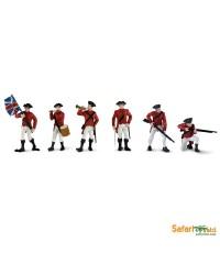 Safari Ltd. : SFR650404* โมเดลแบบแพ็คหลอด American Revolutionary War British Army