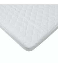 American Baby Company : ABC2766* ที่นอนเด็กกันน้ำ Waterproof Quilted Cotton Bassinet Size Fitted Mat