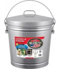 Behrens : BEH6110* ถังใส่อาหารสัตว์ 10-Gallon Locking Lid Can