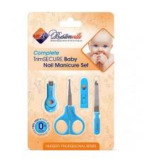 Bestonville : BVLBN01* ชุดกรรไกรตัดเล็บเด็ก Baby Nail Clippers Set with Scissors