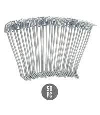 Neiko : NEK53100A* ตะขอแขวน 4-inch Metal Pegboard Hooks 50-Piece Pack