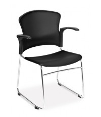 OFM : OFM310-PA-BLK* เก้าอี้สำนักงาน Multi-Use Stack Chair with Plastic Seat  Back
