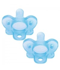 Dr.Brown\'s : DRBPS12004-P4 จุกหลอก One-Piece Pacifier - Stage 1 * 0-6M - Blue, 2pk.