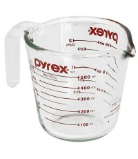 Pyrex : PYR6001075* ถ้วยตวง Prepware 2Cup Glass Measuring Cup