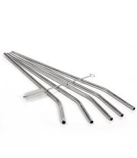 Savvy : SVS002* หลอดสแตนเลส Straws Stainless Steel Straws