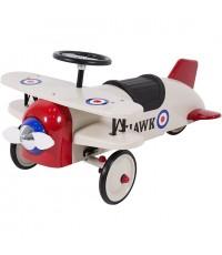 A Best Choice Products : BCPSKY2570* รถเด็กเล่น Ride On Bi-Plane Metal Pedal Car Kids