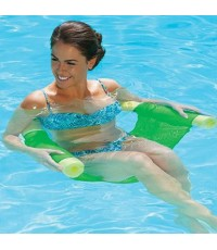 SWY 13176* : Floating Pool Noodle Sling Mesh Chairs - Water Relaxation