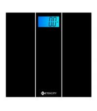 Etekcity : ETCHBHWFE04E* เครื่องชั่งน้ำหนักตัว Digital Body Weight Scale, Tempered Glass, 400 Pounds