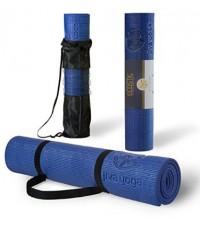 JVY AMZ001* : A Jiva Yoga Non-Slip Yoga Mats With Free Carrying Strap and Bag