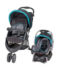 Baby Trend : BBTTS40949* รถเข็นเด็ก EZ Ride 5 Travel System, Hounds Tooth