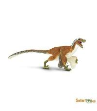 Safari Ltd. : SFR100032 โมเดลไดโนเสาร์ Feathered Velociraptor