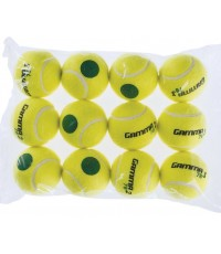 Gamma : GMACG78T00* ลูกเทนนิส Sport Kids Training (Transition) Balls 78 Green Dot (12-PK)