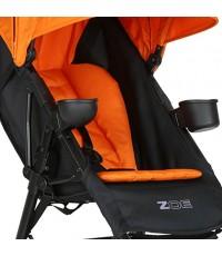 ZOE : ZOE AMZ001* เบาะรองรถเข็นเด็ก Deluxe Universal Stroller Seat Liner Pad (Orange)