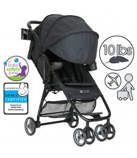 ZOE : ZOEXL1-DLX-BK* รถเข็นเด็ก Umbrella XL1 Single Stroller, DELUXE - Black