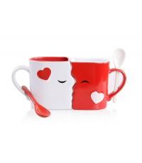 Blu Devil : BDVAMZ001* แก้วน้ำคู่ Kissing Mugs Set