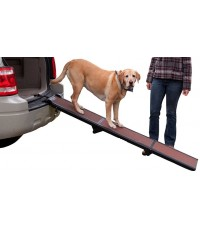 PTG TL9371CH* : Pet Gear Tri-Fold Ramp 71 inch Pet Ramp supports