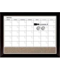 QUT 22476* : Quartet Magnetic Combination Calendar Board