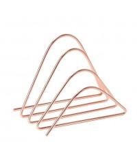 UBD 856U06-24* : U Brands Desktop Letter Sorter, Wire Metal, Copper