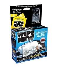 Wipe New : HDL6PCMTRRT* น้ำยาเช็ดไฟหน้ารถยนต์ Headlight Restore Kit