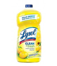 Lysol : LYSAMZ001* น้ำยาล้างห้องน้ำ Lysol Clean  Fresh Multi-Surface Cleaner