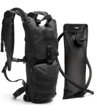Diaz Sport : DAZAMZ001* เป้สะพานหลัง Black Tactical Hydration Pack
