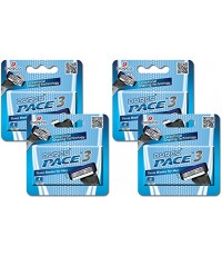 DORCO : DRCAMZ004* ใบมีดโกน Pace 3 Value Pack (16 Cartridges)