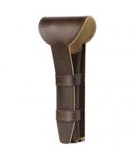 Luxspire : LXSAMZ001* ซองหนังสำหรับมีดโกน Genuine Leather Double Edge