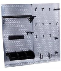 Wall Control :WCT30-WGL-200GVB* ชุดกระดานเพ็คบอร์ด Pegboard Galvanized Steel Pegboard Tool Organizer