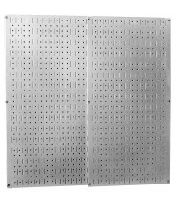 WCT30-P-3232GV* : Wall Control Galvanized Steel Pegboard Pack