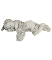 Design Toscano : DTCNG34033* อุปกรณ์ตกแต่ง Sleepy Time Baby Angel Napping Shelf Sitter Statue