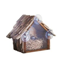 Inspire and Imagine : INIAMZ001* บ้านนก Driftwood Rear View Birdhouse