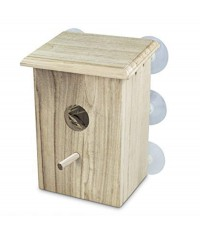 PetsN\'all : PNAHR4912* บ้านนก Wooden Bird Nest Box