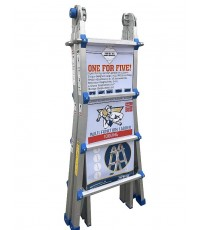 Toprung : TPRTSA-U25* บันได Aluminum Extension Multi-Purpose Ladder