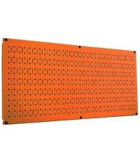 Wall Control : WCT 30-HP-1632OR* แผงเหล็ก 16 x 32 inch Horizontal Orange Metal Pegboard