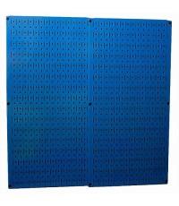 Wall Control : WCT 30-P-3232BU* แผงเหล็ก Blue Steel Metal Two 32 x 16 inch Pegboard Tool Boards