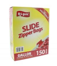 Ri Pac : RIP37315* ถุงซิป Gallon Slide Sipper Freezer Bags - 150 count