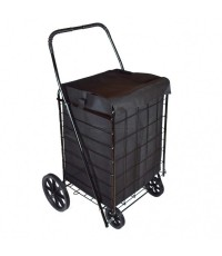WellMax : WMXWM99008* รถเข็นใส่ของ Extra Large Folding Shopping Cart