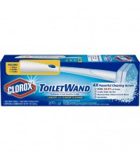 Clorox : CRXAMZ002* ไม้และหัวแปรงทำความสะอาด ToiletWand Disposable Toilet Cleaning System