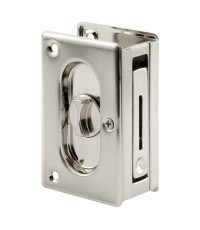 Prime-Line : PMLN7367* กลอนประตู Pocket Door Privacy Lock with Pull
