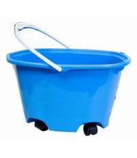 Quickie : QCK20000* ถังบรรจุน้ำ EZ-Glide Multi-Purpose Bucket on Wheels