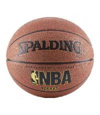 Spalding : SPD632498* ลูกบาสเกตบอล NBA Street Basketball Size7