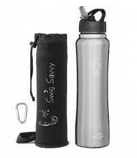 SWIG SAVVY : SSVAMZ001* ขวดน้ำดื่ม Stainless Steel Water Bottle