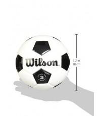 Wilson : WLS49243* ลูกฟุตบอลเบอร์4 Traditional Soccer Ball Size4