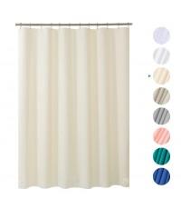 Amazer : AMZSCL-BEG* ม่านกั้นอาบน้ำ Shower Curtain, 72 x 72 inch Beige