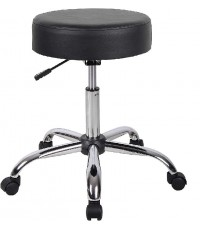 Boss Office Products : BOPB240-BK* เก้าอี้ Be Well Medical Spa Stool, Black
