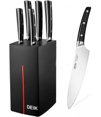DEIK : DEKKF-F8034A* ชุดมีดทำครัว Kitchen Knife Set Chef Knife 6-pc Set